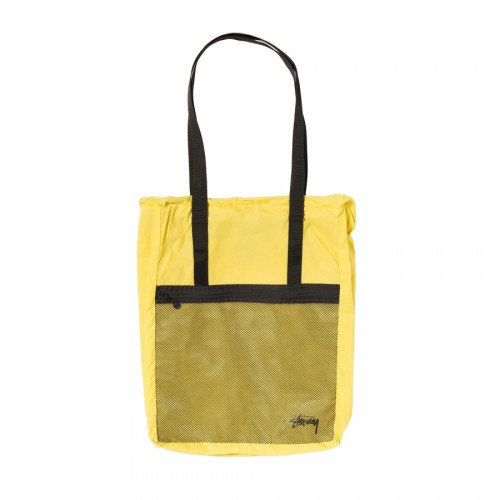 Stussy Light Weight Travel Tote Bag Citrus