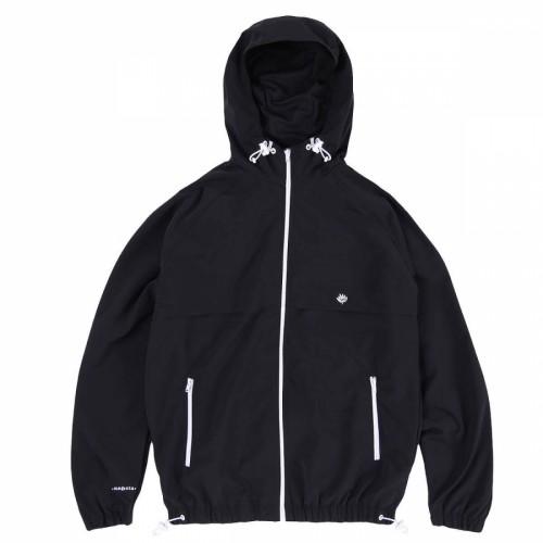 Magenta Sail Jacket Black