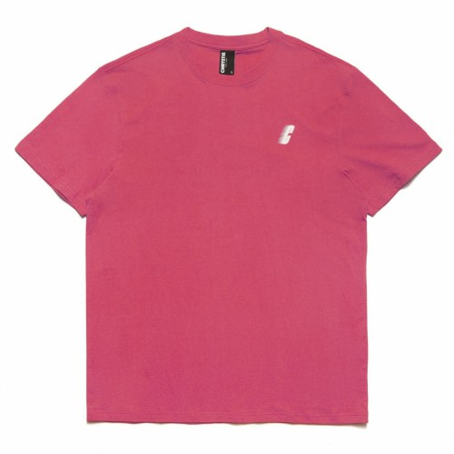 Chrystie Race C Logo T-Shirt Salmon