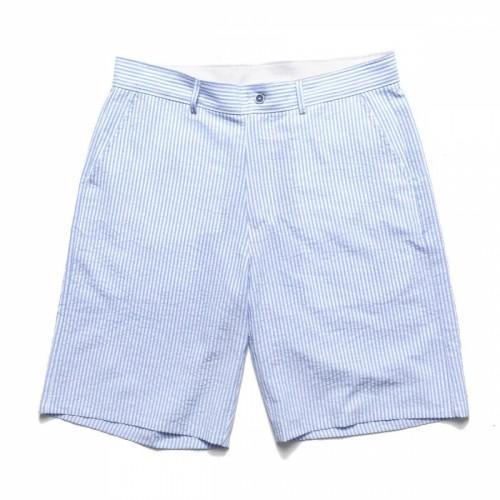 Chrystie Stripe Shorts Blue