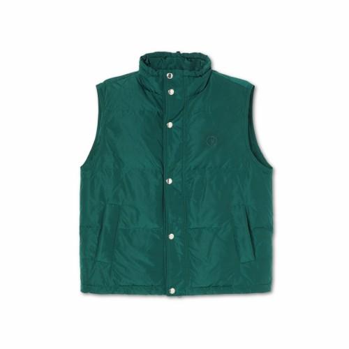 Polar Skate Co Puffer Vest Dark Green