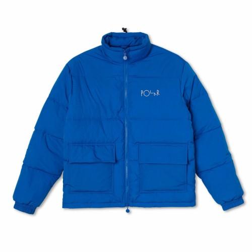 Polar Skate Co Pocket Puffer Blue