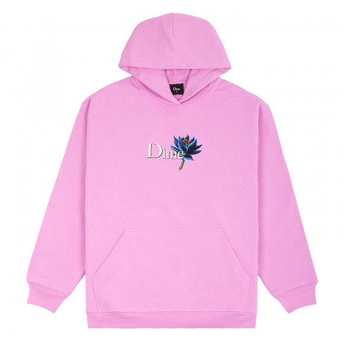 Dime Black Lotus Hoodie Light Pink