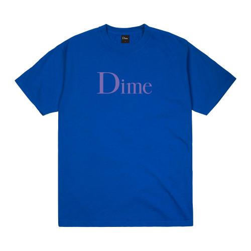 Dime Classic T-Shirt Cobalt