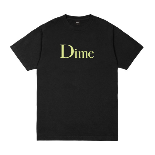 Dime Classic T-Shirt Black