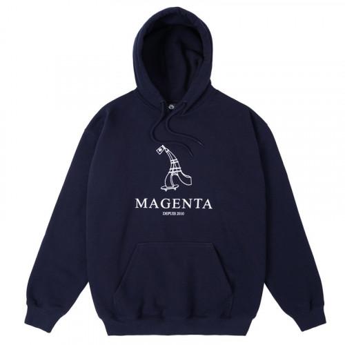 Magenta Depius 2010 Hoodie Navy