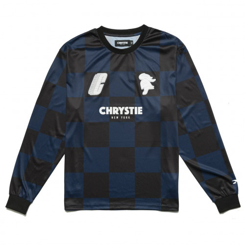 Chrystie NYC x Soho Warriors - SWFC 10th Anniversary Soccer Jersey Away Color Navy