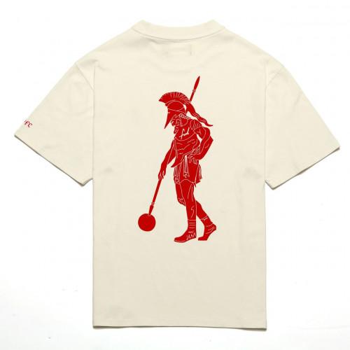 Chrystie NYC x Soho Warriors - SWFC FNL Warrior T-shirt Cream
