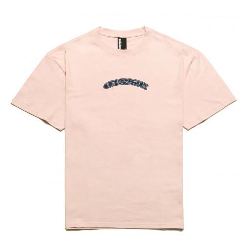 Chrystie NYC x Soho Warriors - SWFC Twisted Logo T-Shirt Light Pink