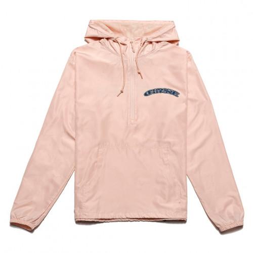 Chrystie NYC x Soho Warriors - SWFC Home Color 1/2 Zip Anorak Jacket Pink