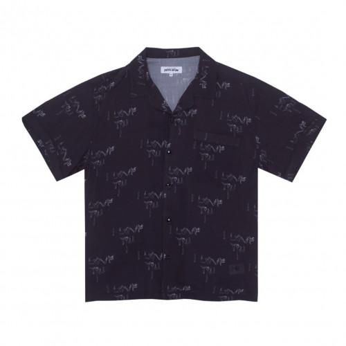 Fucking Awesome I Love You Club Shirt Black