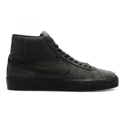 Nike SB Zoom Blazer Mid Orange Label Dark Smoke Grey/Black