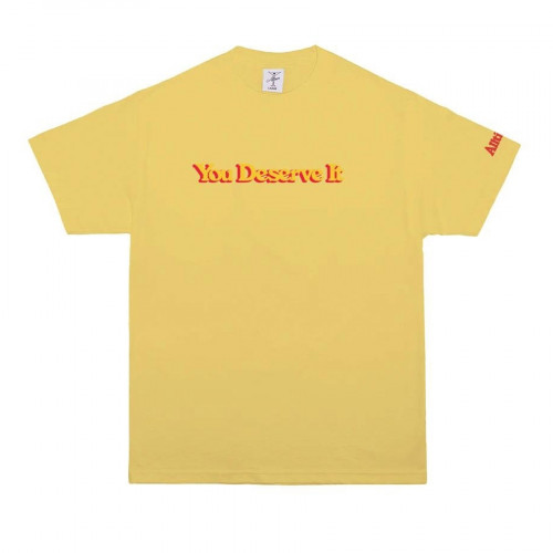Alltimers You Deserve It Tee Yellow