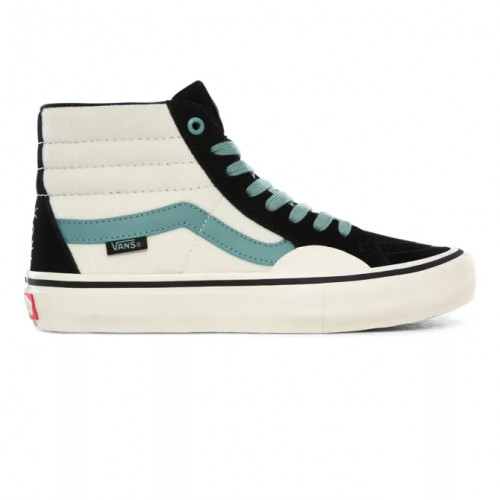 Vans Fabiana Delfino Sk8-Hi Pro Shoes Black/Oil Blue