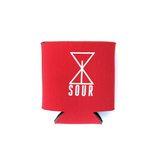 Sour Solution Koozie Red