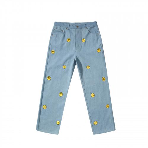 Helas Smiley Pant Light Blue