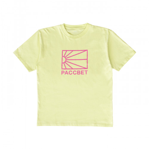 РАССВЕТ Logo T-Shirt Lime Green