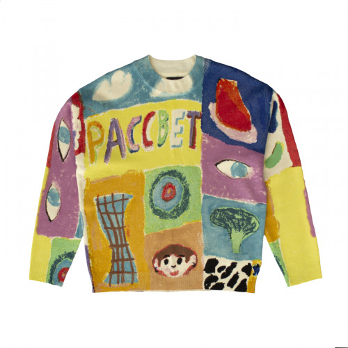 РАССВЕТ Pattern Sweater Multi