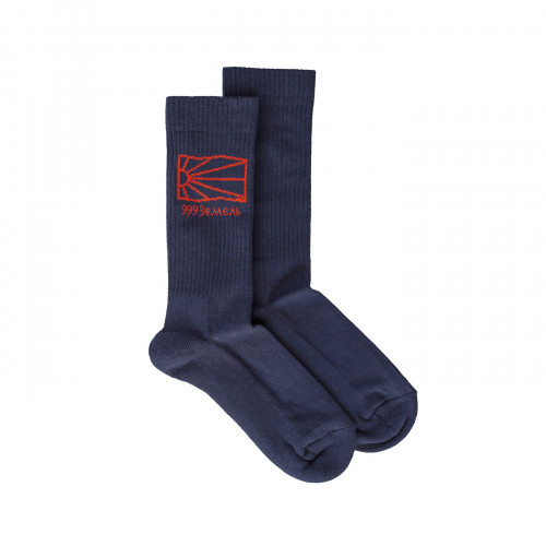 РАССВЕТ Socks Navy