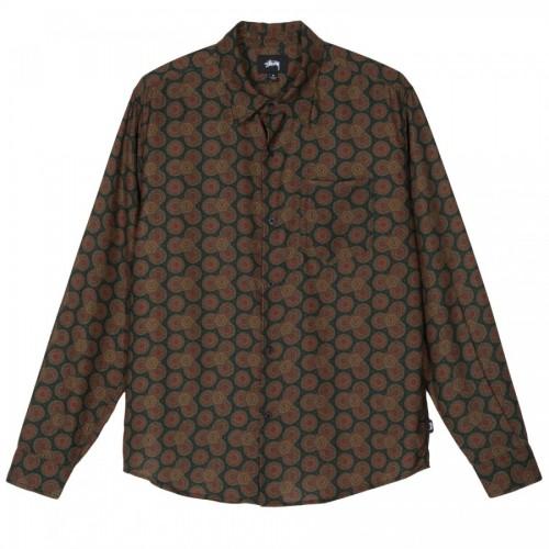 Stussy Circle Paisley Pattern Shirt