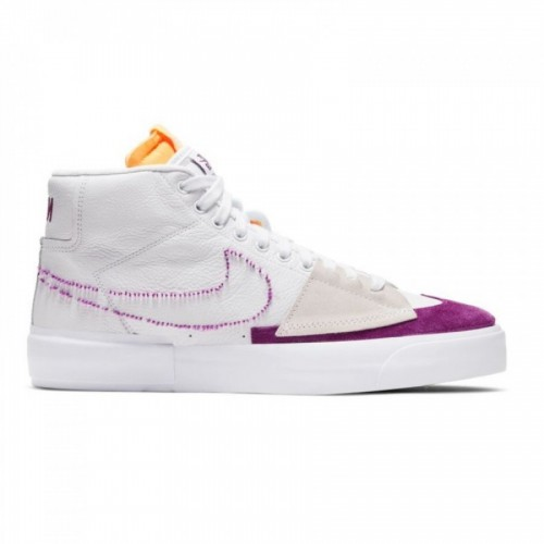 Nike SB Zoom Blazer Mid Edge White-Viotech/White