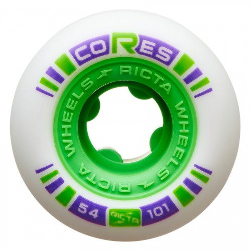 Ricta Wheels Cores Neon Green 101a 54mm