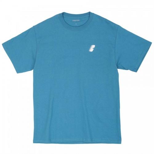 Chrystie Race C Logo T-Shirt Shark Blue