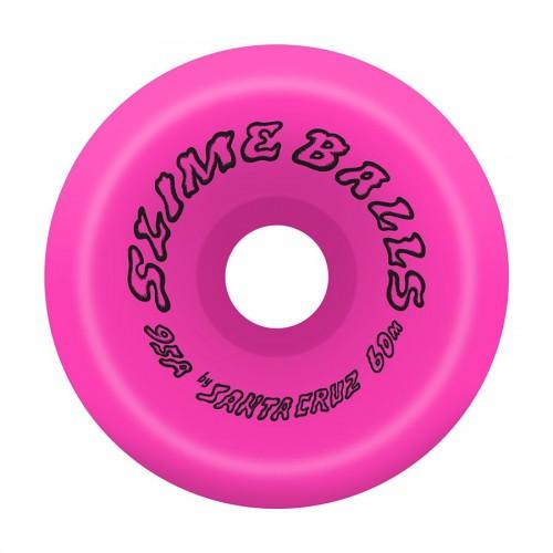 Slime Balls Wheels Scudwads Vomits Neon Pink 95A 60mm