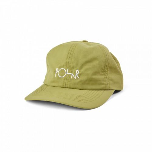 Polar Skate Co Lightweight Cap Lentil Green