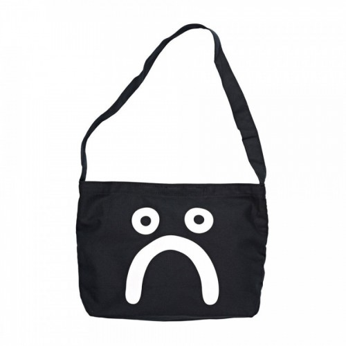 Polar Skate Co Happy Sad Tote Bag Black