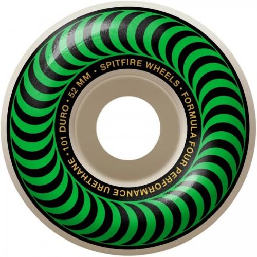Spitfire F4 99D Classic Green Wheels 52MM