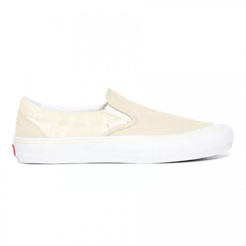 Vans Platoon Slip-On Pro Shoes Dove/White