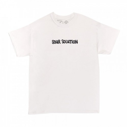 Sour Solution Doodle Tee White