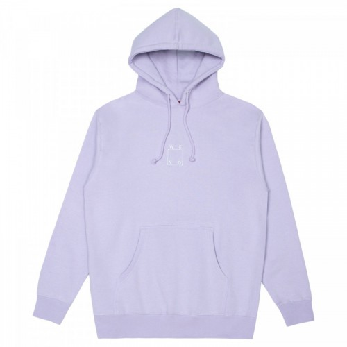 WKND Embroidered Logo Hoodie Lavender
