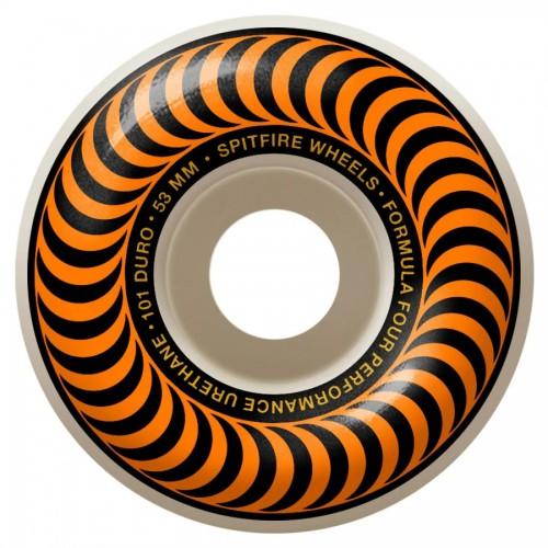 Spitfire F4 101D Classic Orange Wheels 53MM