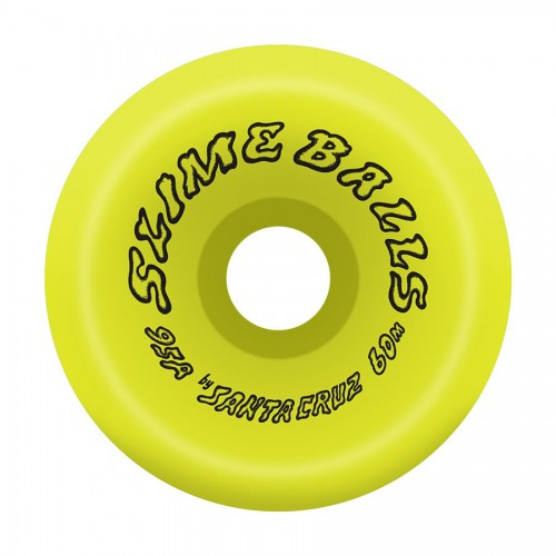 Slime Balls Wheels Scudwads Vomits Neon Yellow 95A 60mm
