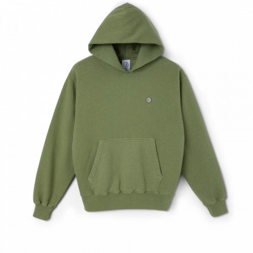 Polar Skate Co Patch Hoodie Heather Green