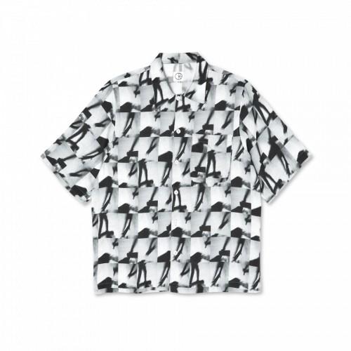 Polar Skate Co Sequence Art Shirt Black