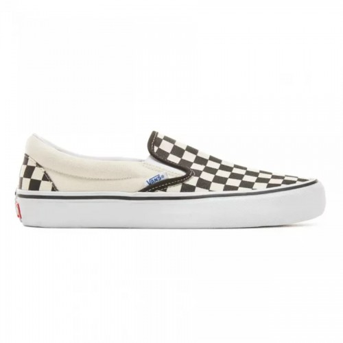 Vans Checkerboard Slip-On Pro Shoes Black/White