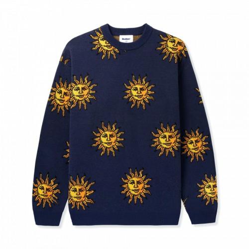 Butter Goods Sun Knit Sweater Navy