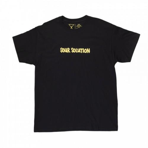 Sour Solution Doodle Tee Black